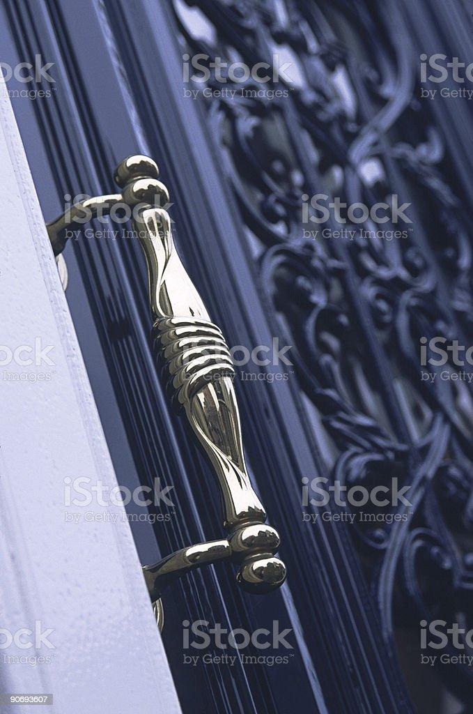 Door Handle royalty-free stock photo