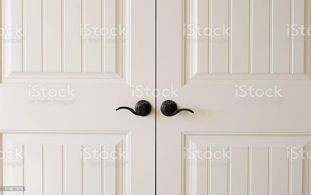 Door Handles stock photo