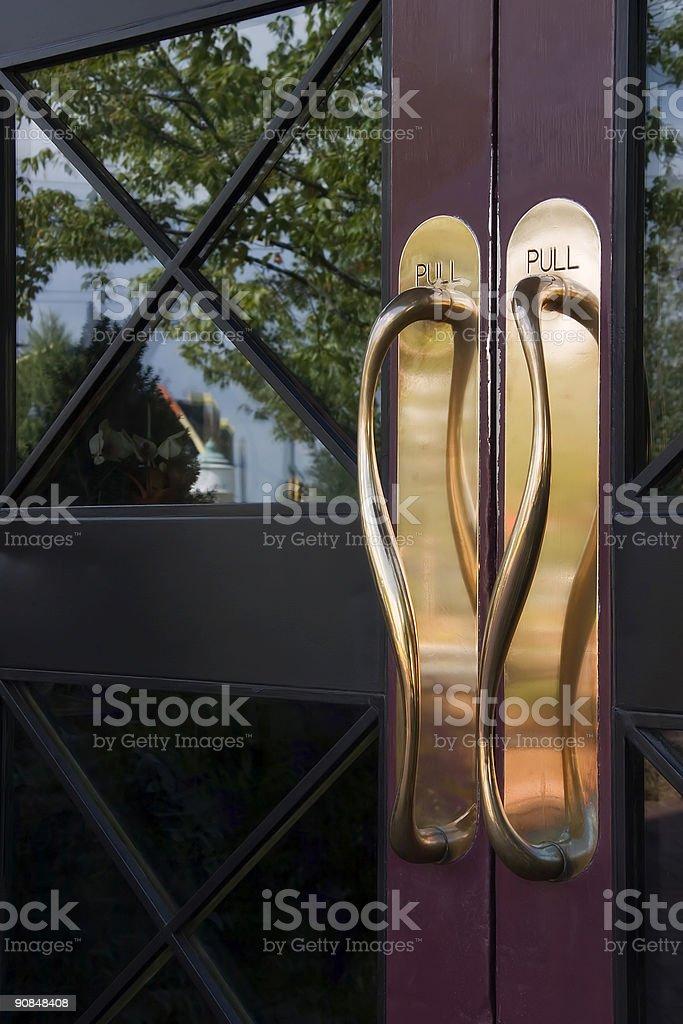 Door Handles royalty-free stock photo