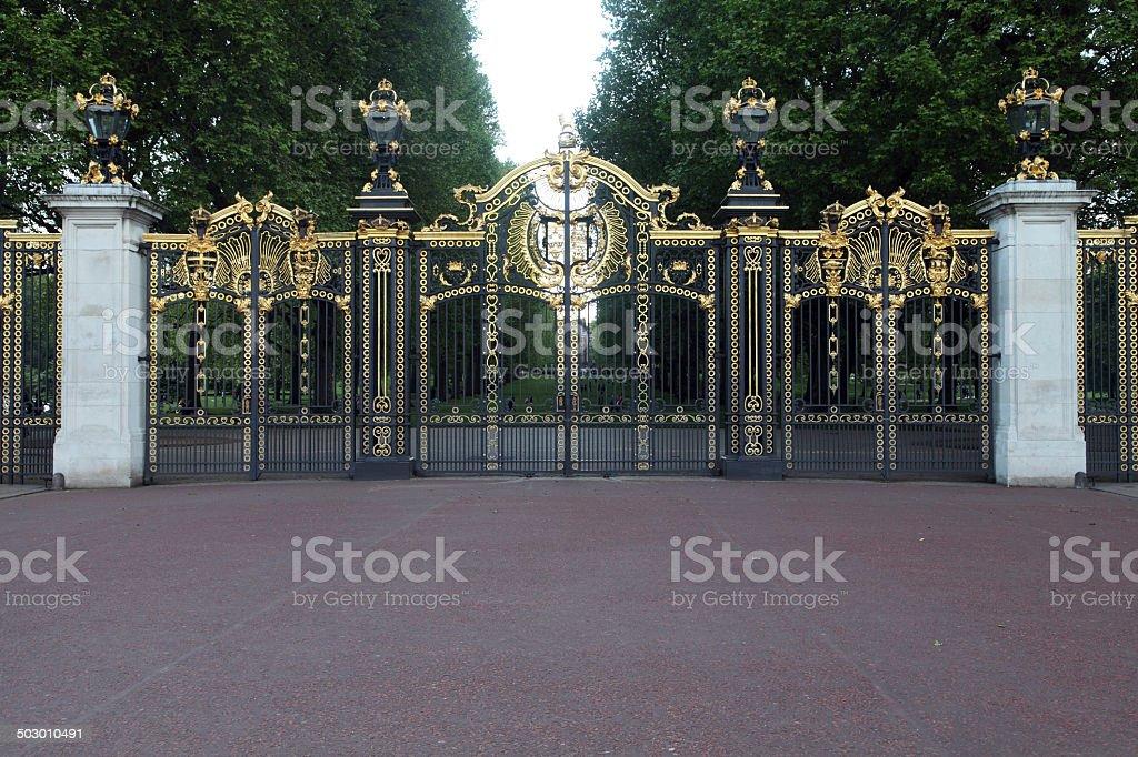 Door hyde park in london stock photo