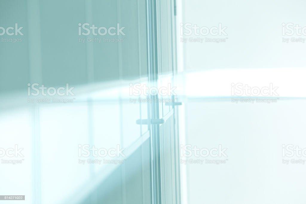 Door in office stock photo