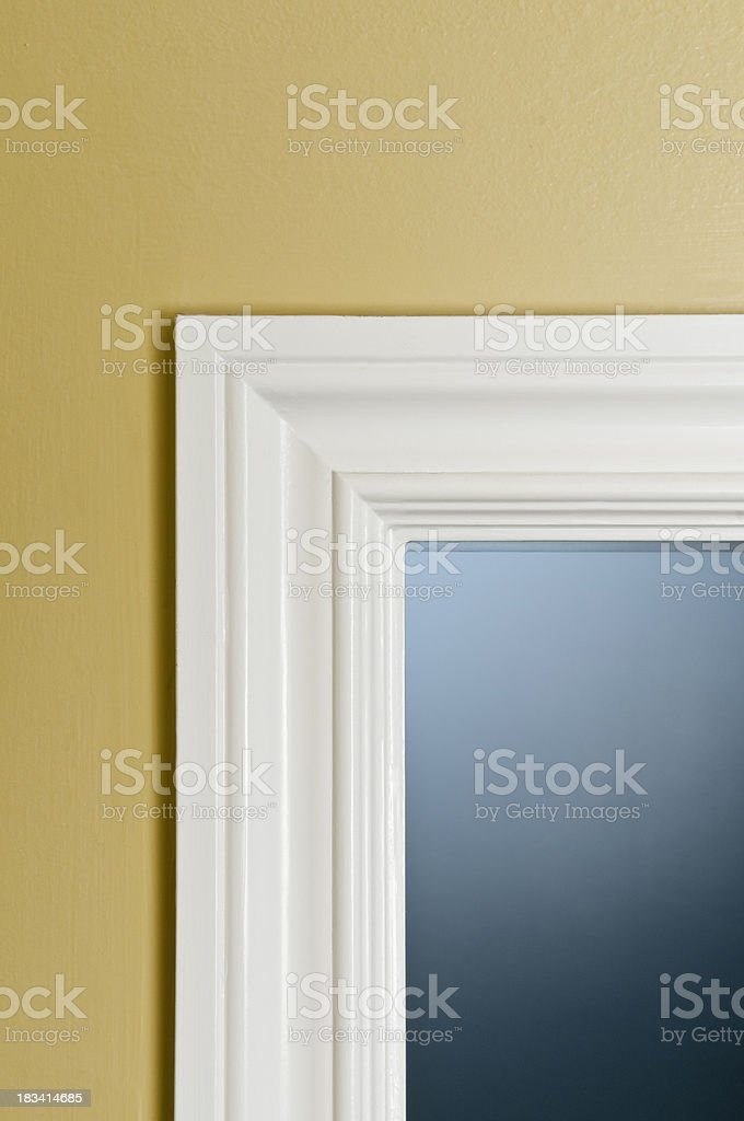 Door Jamb stock photo