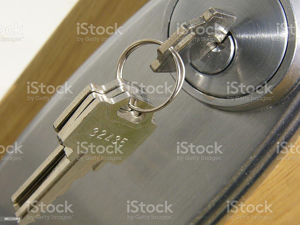 door key royalty-free stock photo