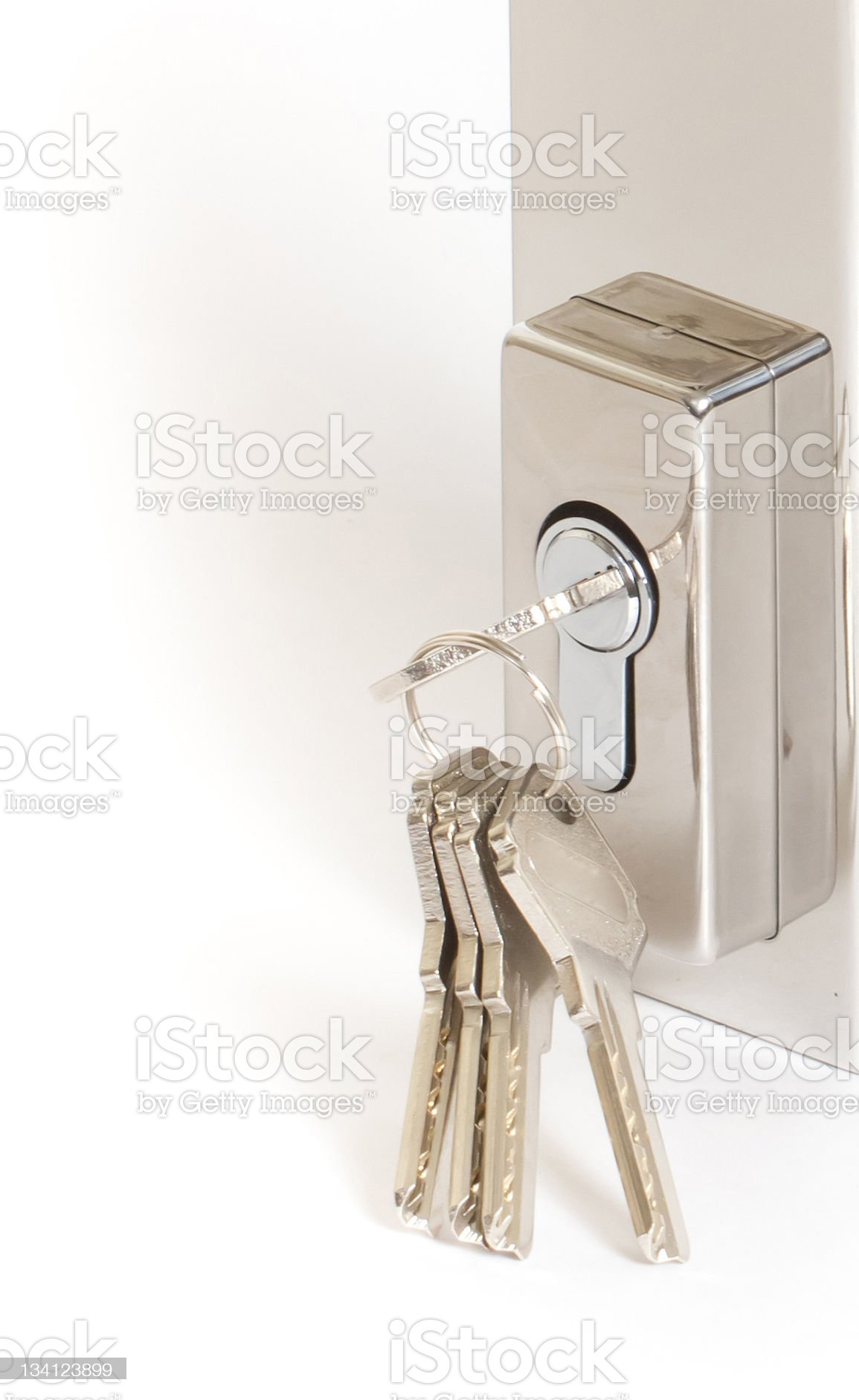 Door Keys royalty-free stock photo