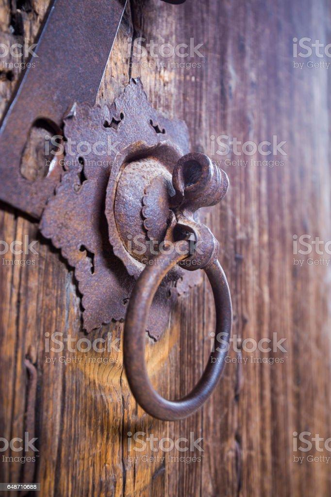 door knocker stock photo