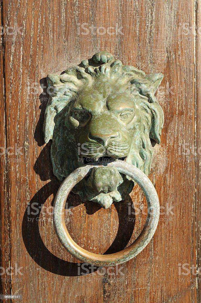 Door Knocker royalty-free stock photo