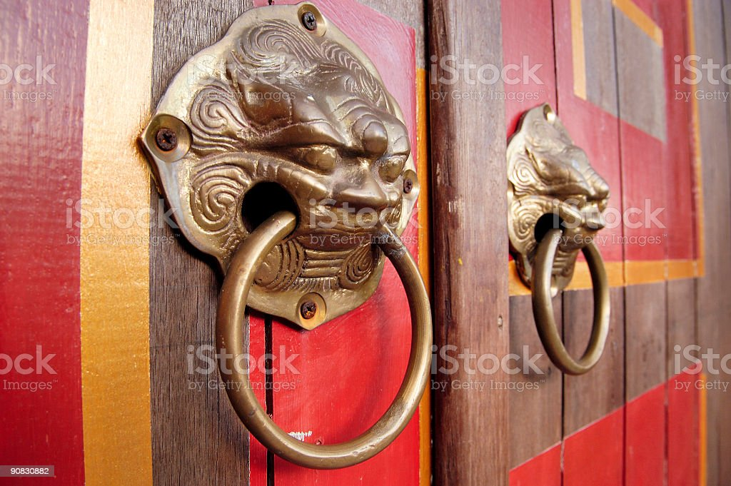 Door Knockers stock photo