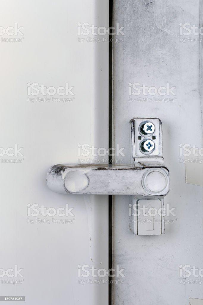 Door Lock ( after Theft) royalty-free stock photo