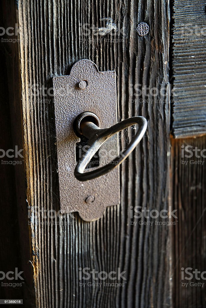 door lock stock photo