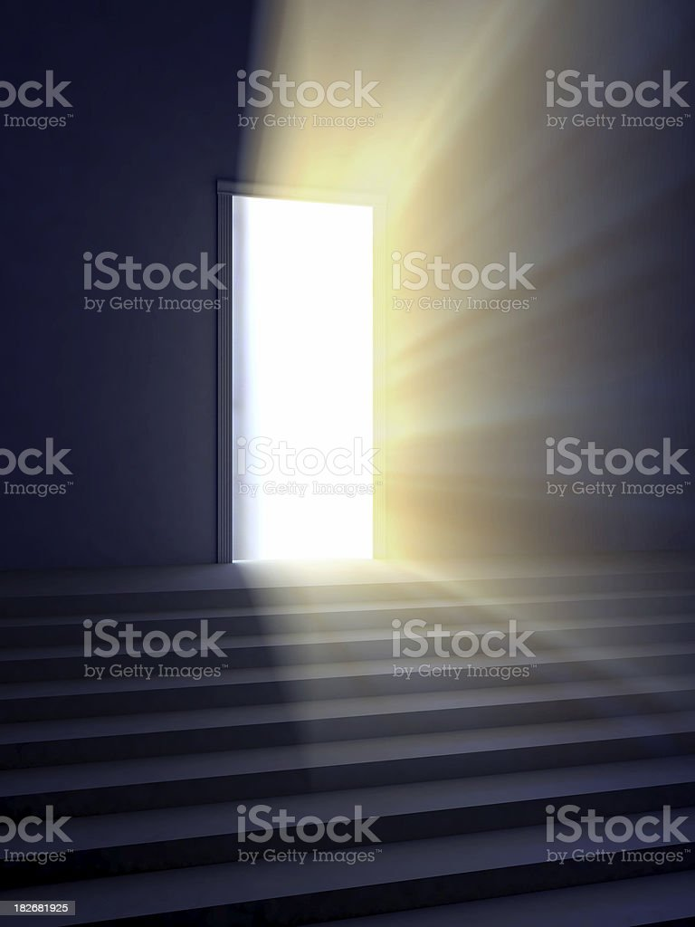 door of hope royalty-free stock photo