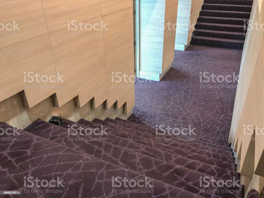 door of seminar hall stock photo
