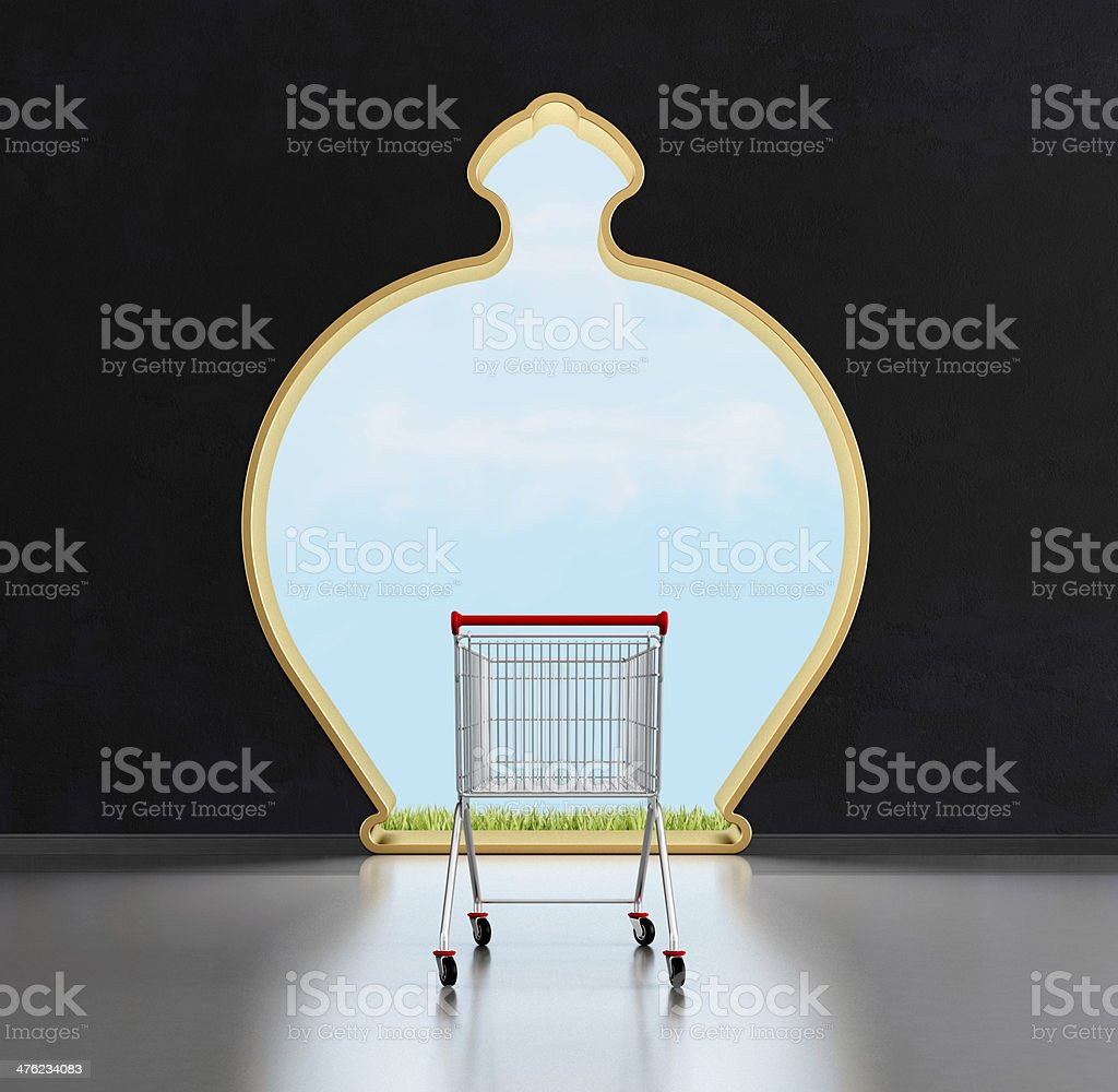 Door of the saving royalty-free stock photo