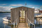 Door on the dock