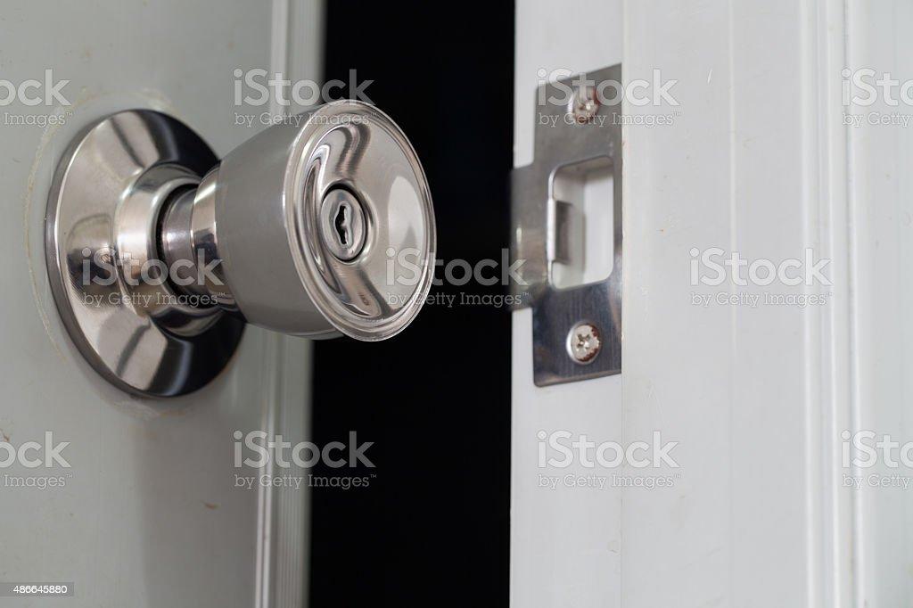 Door Open. stock photo