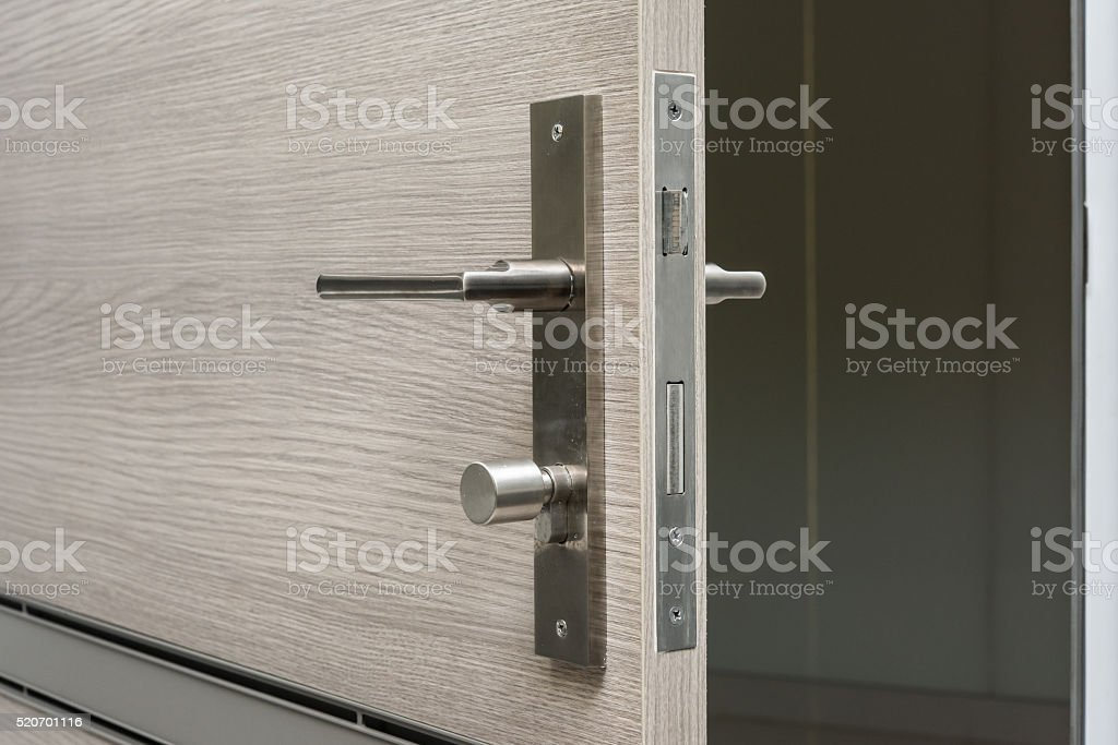 Door open stock photo