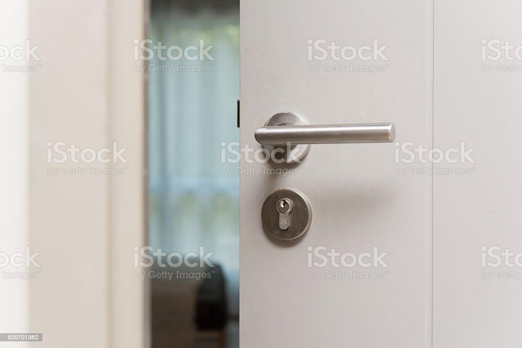 Door open stock photo