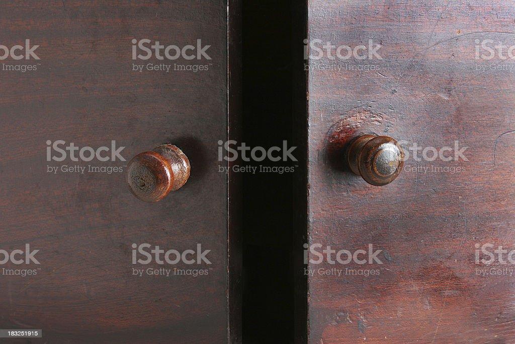 door opened stock photo