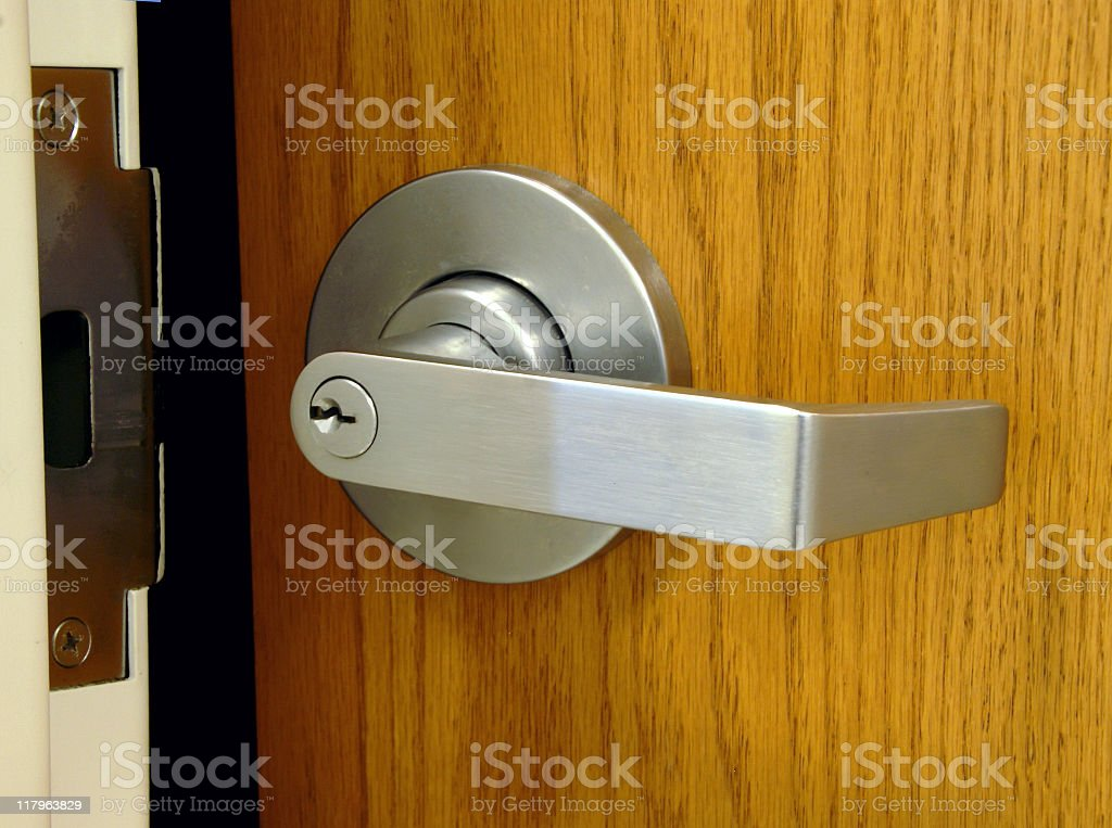 Door Opening royalty-free stock photo
