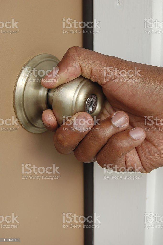 Door Opening stock photo