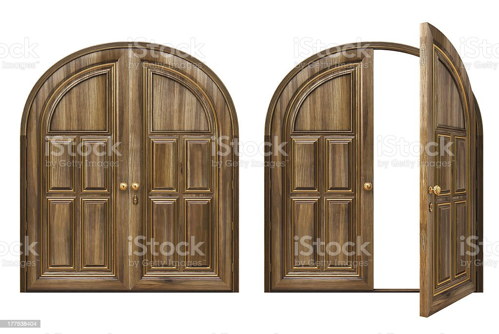 door stock photo