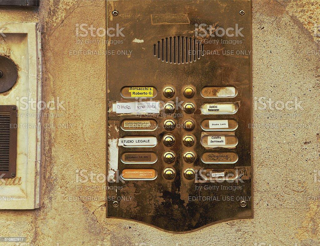 door timber stock photo