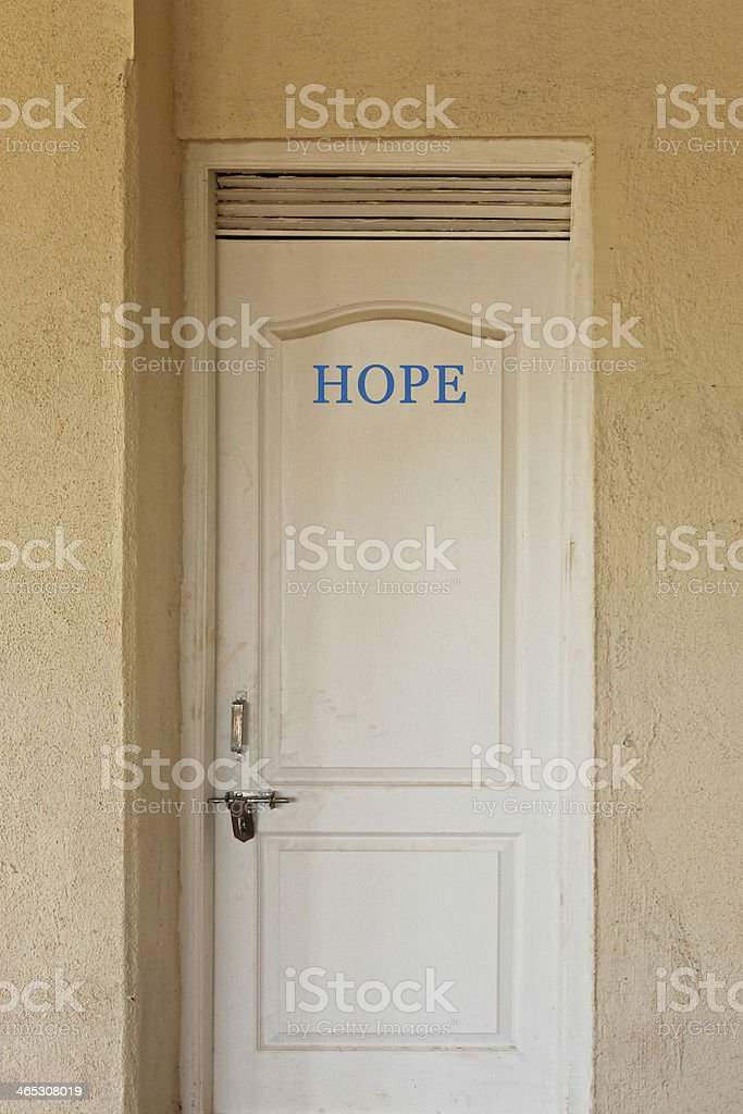 Door to new world royalty-free stock photo