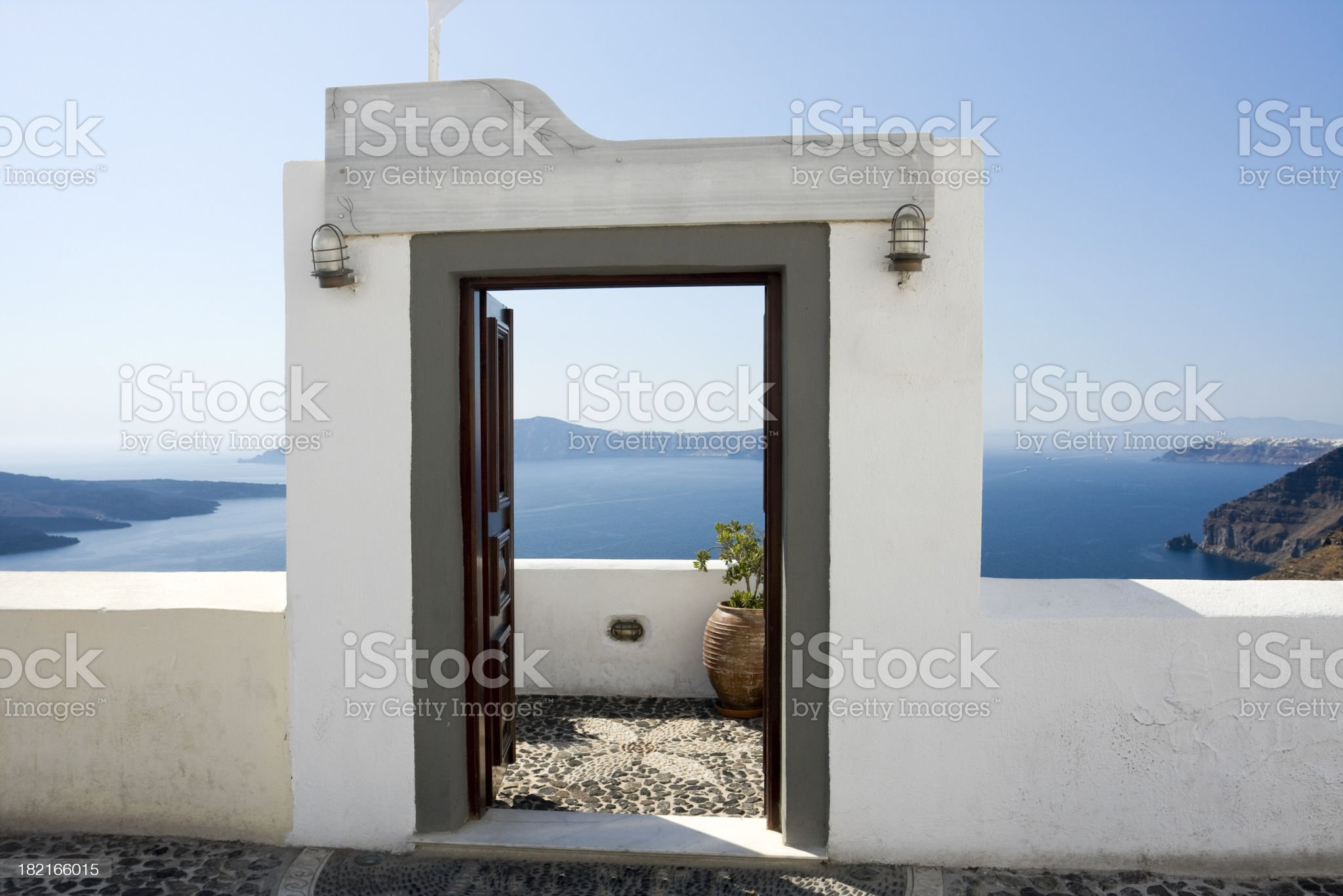 Door to Paradise royalty-free stock photo