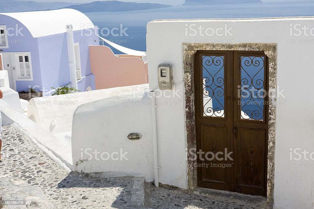 Door to Paradise stock photo