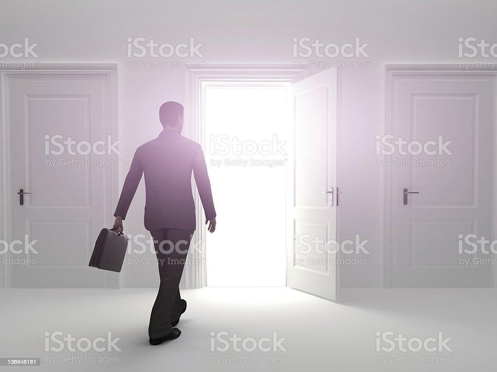 Door to success royalty-free stock photo