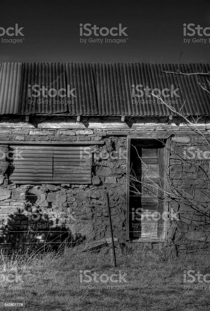 Door to the Past - New Mexico stock photo