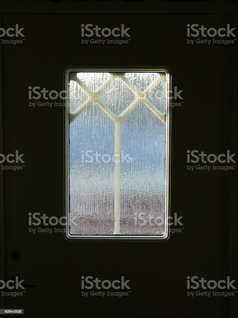 Door window royalty-free stock photo
