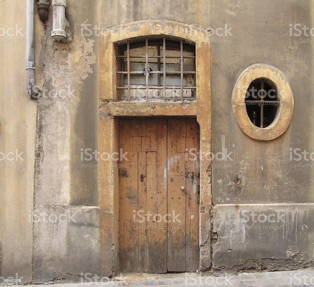 Door & window royalty-free stock photo
