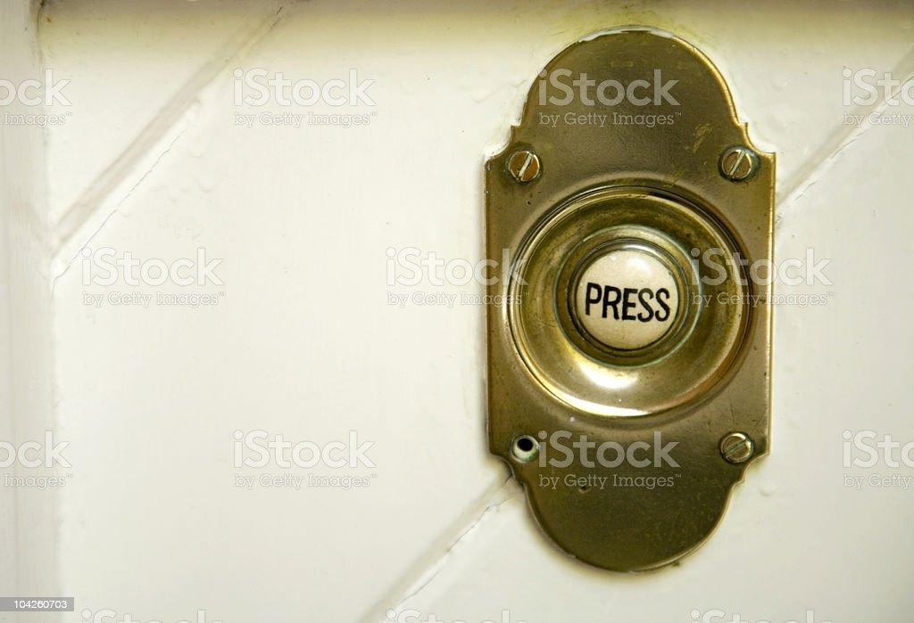 Doorbell 2 stock photo