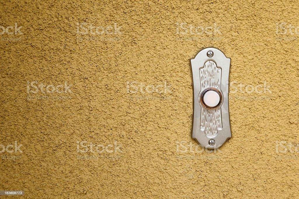 Doorbell horizontal stock photo