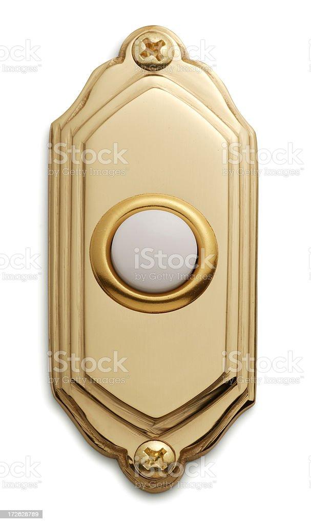 Doorbell stock photo