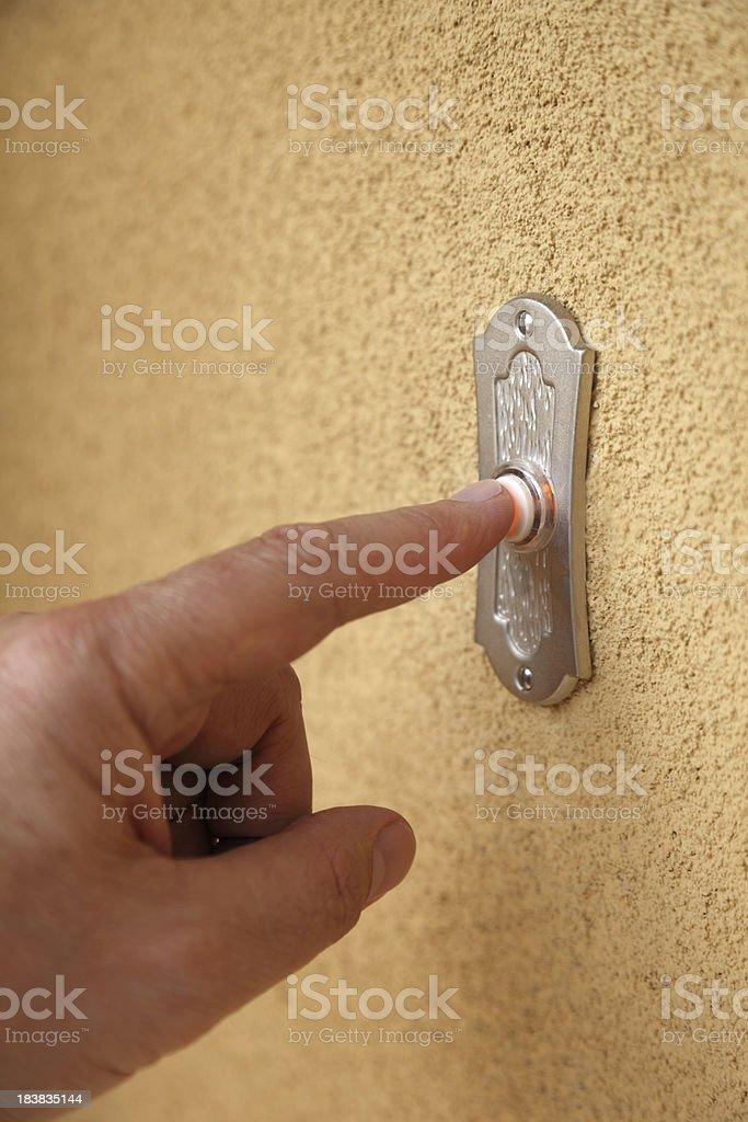 Doorbell Ring royalty-free stock photo