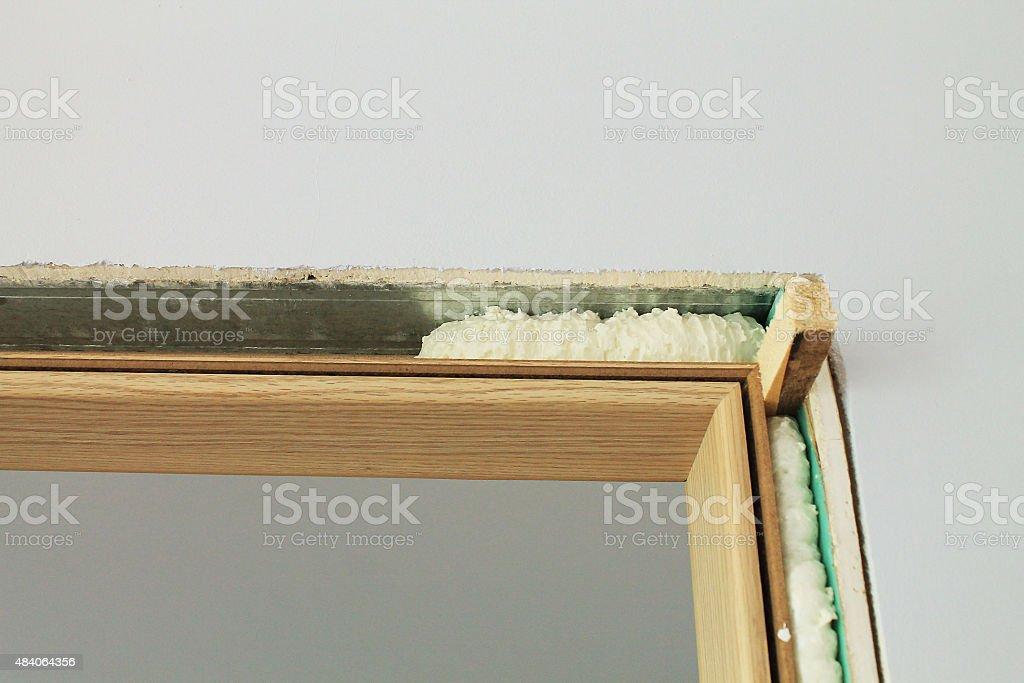 door-frame stock photo