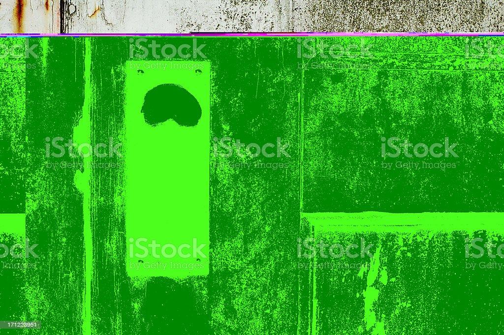 doorhandle on white door royalty-free stock photo