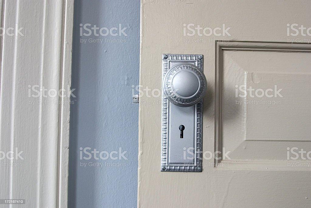 Doorknob blues royalty-free stock photo