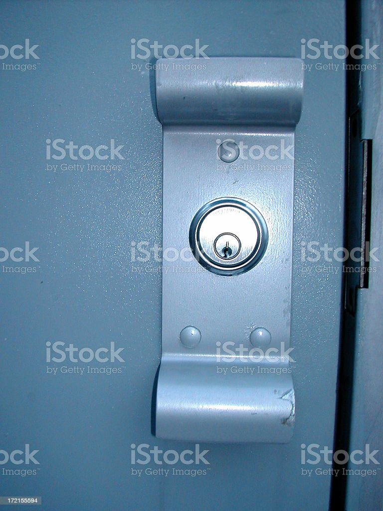 doorlock 002 royalty-free stock photo