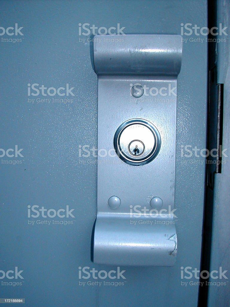 doorlock 002 stock photo