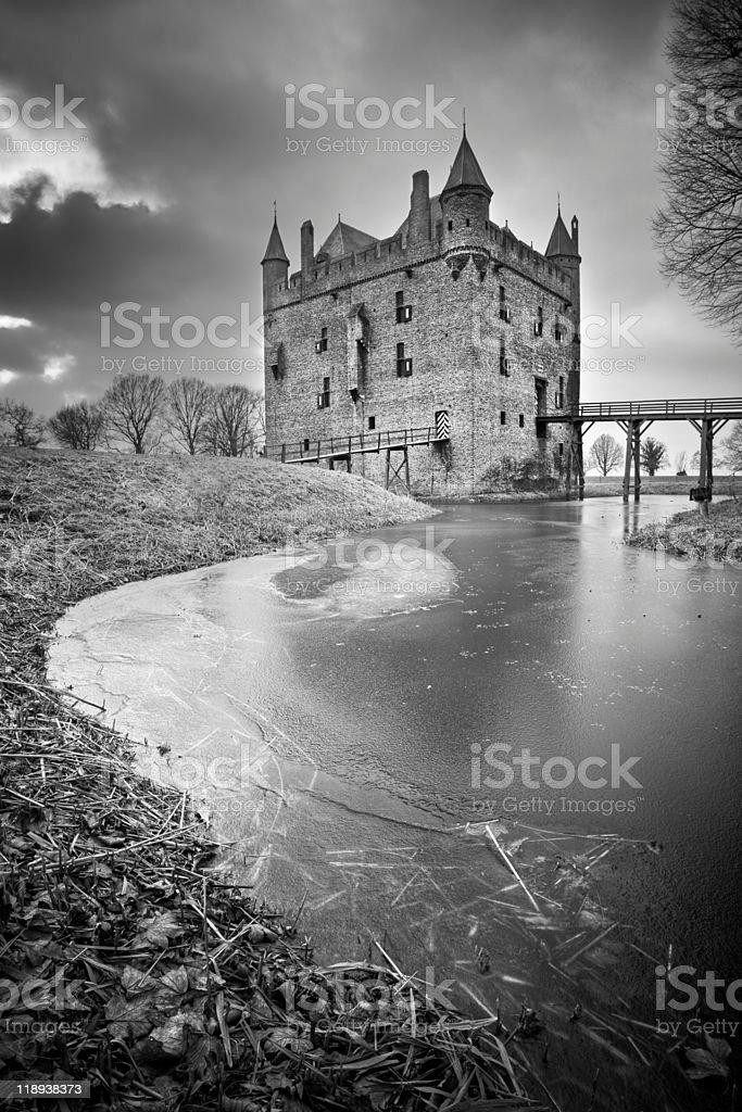 Doornenburg Castle royalty-free stock photo