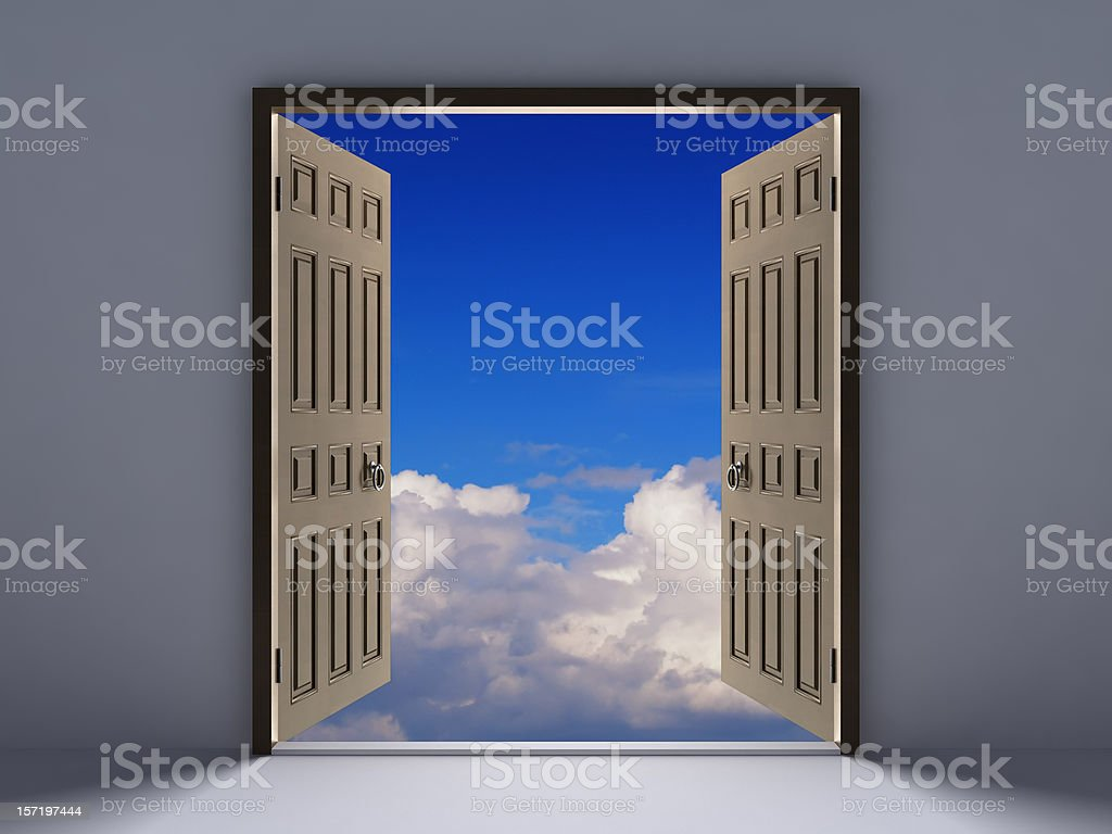 Doors Concept royalty-free stock photo