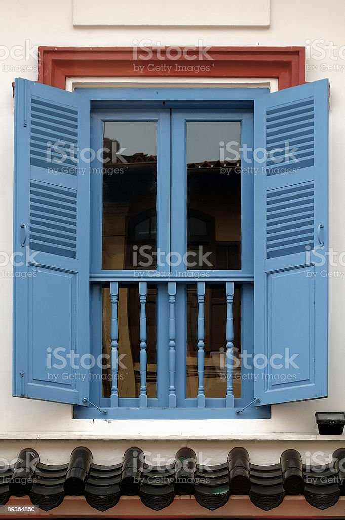 Doors in Chinatown royalty-free stock photo