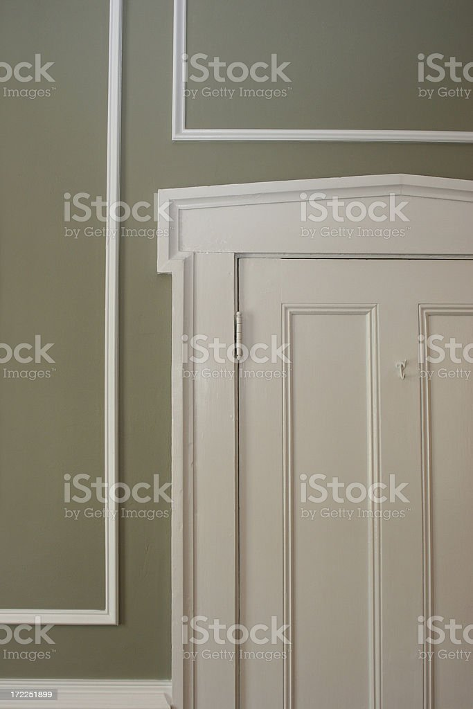 Doorway c.1885 stock photo