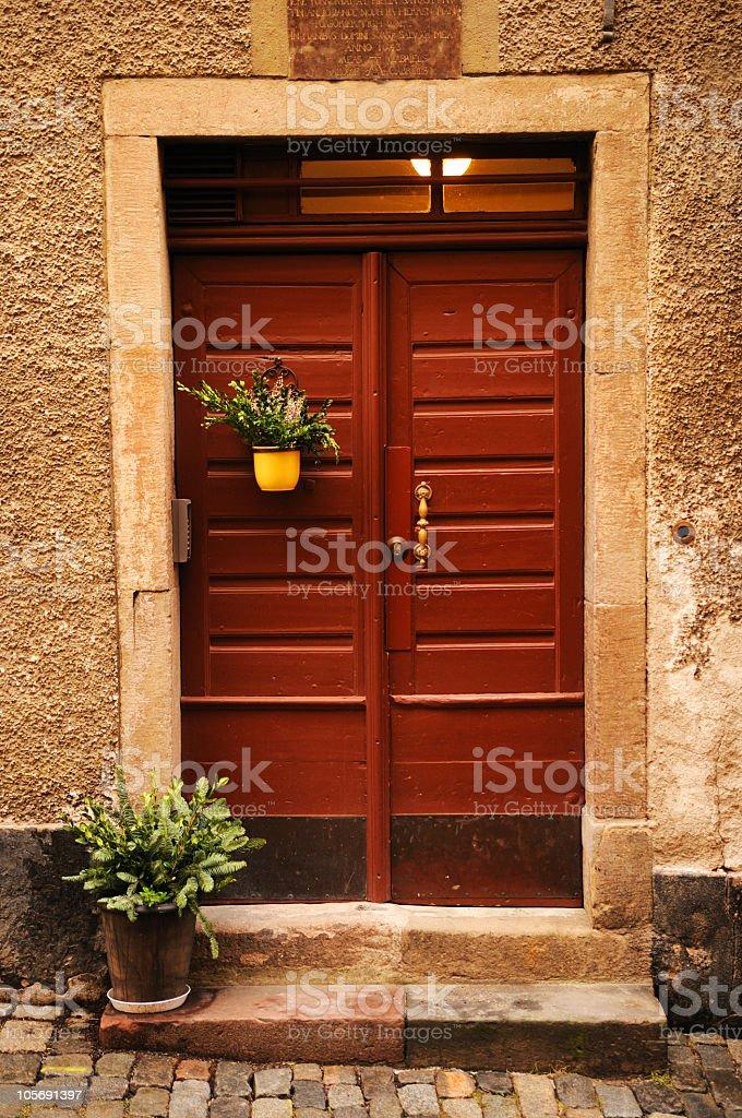 Doorway royalty-free stock photo