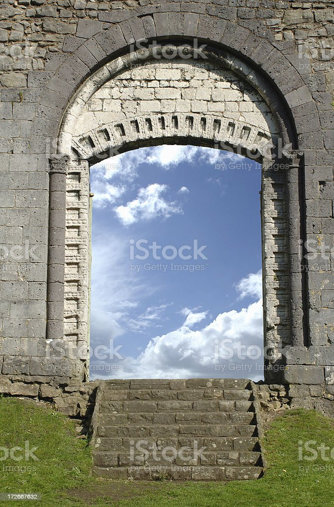 doorway to another world royalty-free stock photo