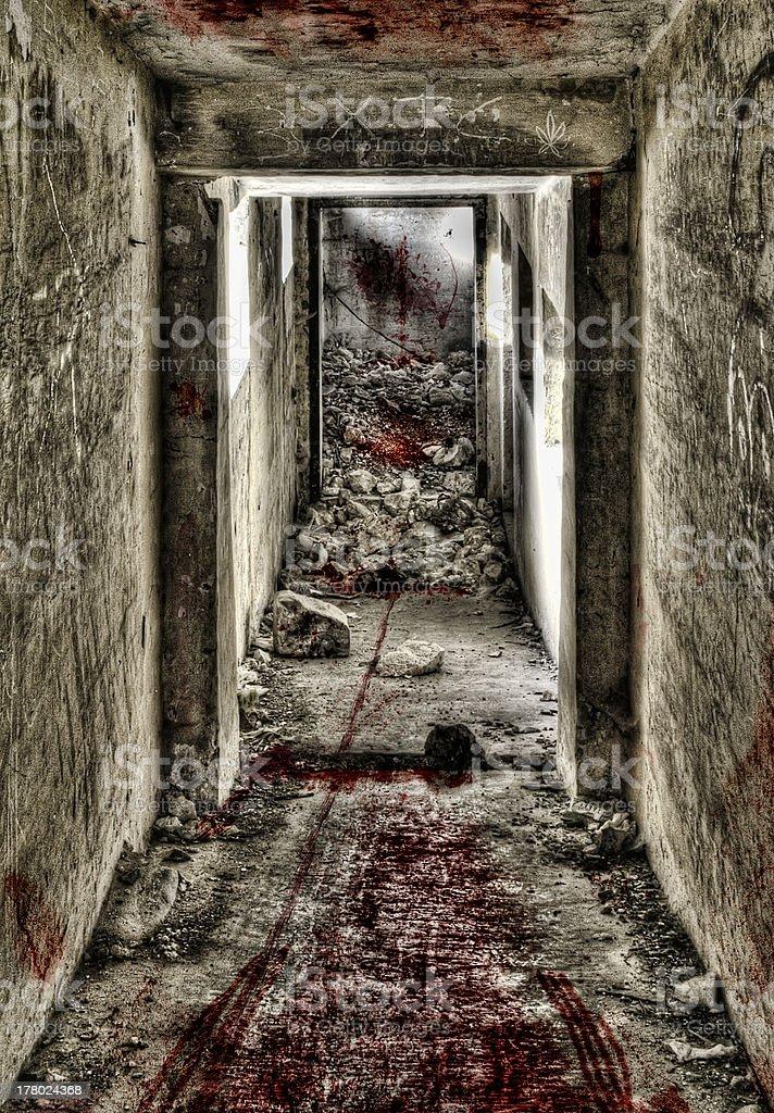 Doorway to Hell stock photo