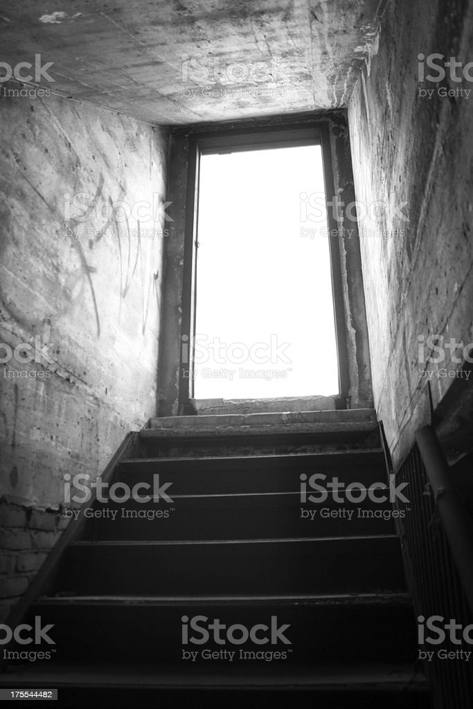 Doorway to Nowhere stock photo