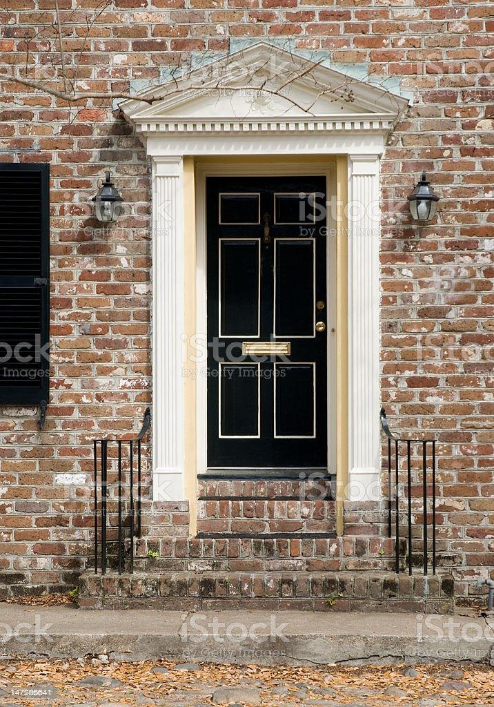 Doorways of Charleston royalty-free stock photo